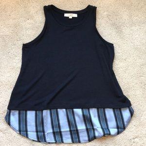 LOFT tank top blouse